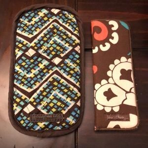 Vera Bradley Double Eye Case and Glasses Case